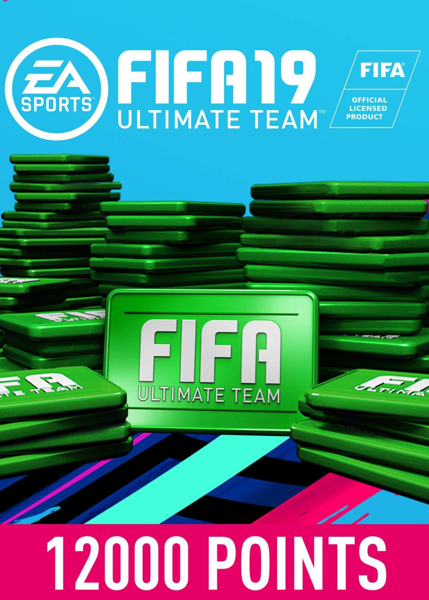 FIFA 19 ULTIMATE TEAM FIFA POINTS 12000