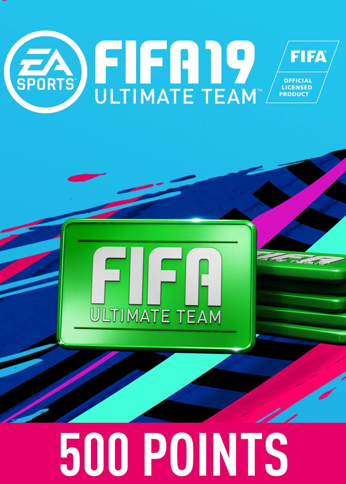 FIFA 19 ULTIMATE TEAM FIFA POINTS 500