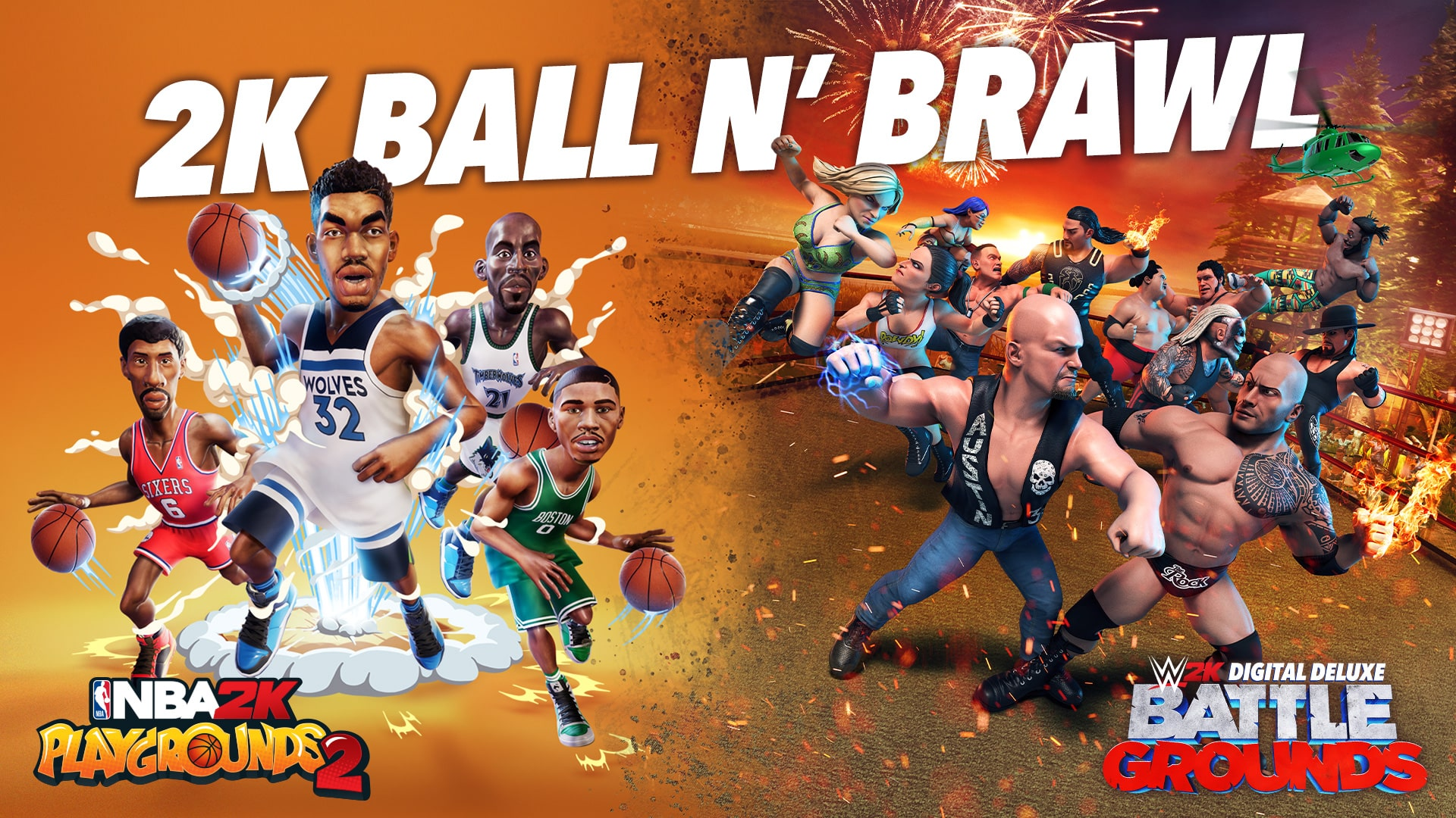 2K Ball N' Brawl Bundle | ROW (5077e47b-fbda-4ffa-b743-f08dd1f3b9a1)