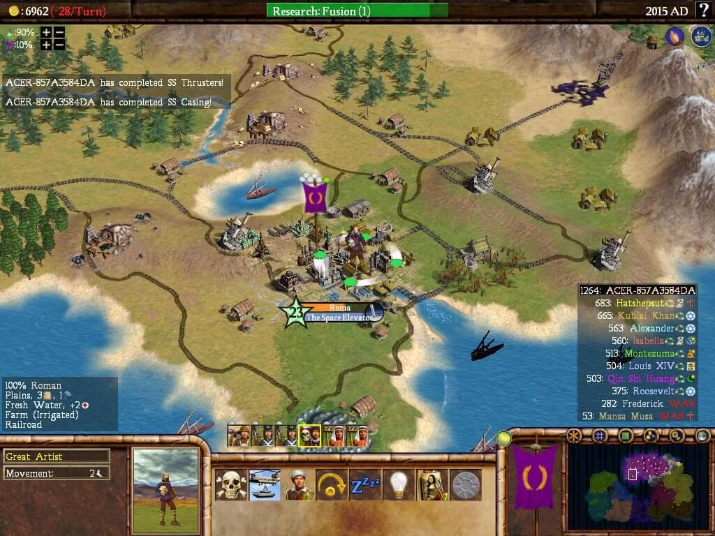 Sid Meier's Civilization IV (ROW)