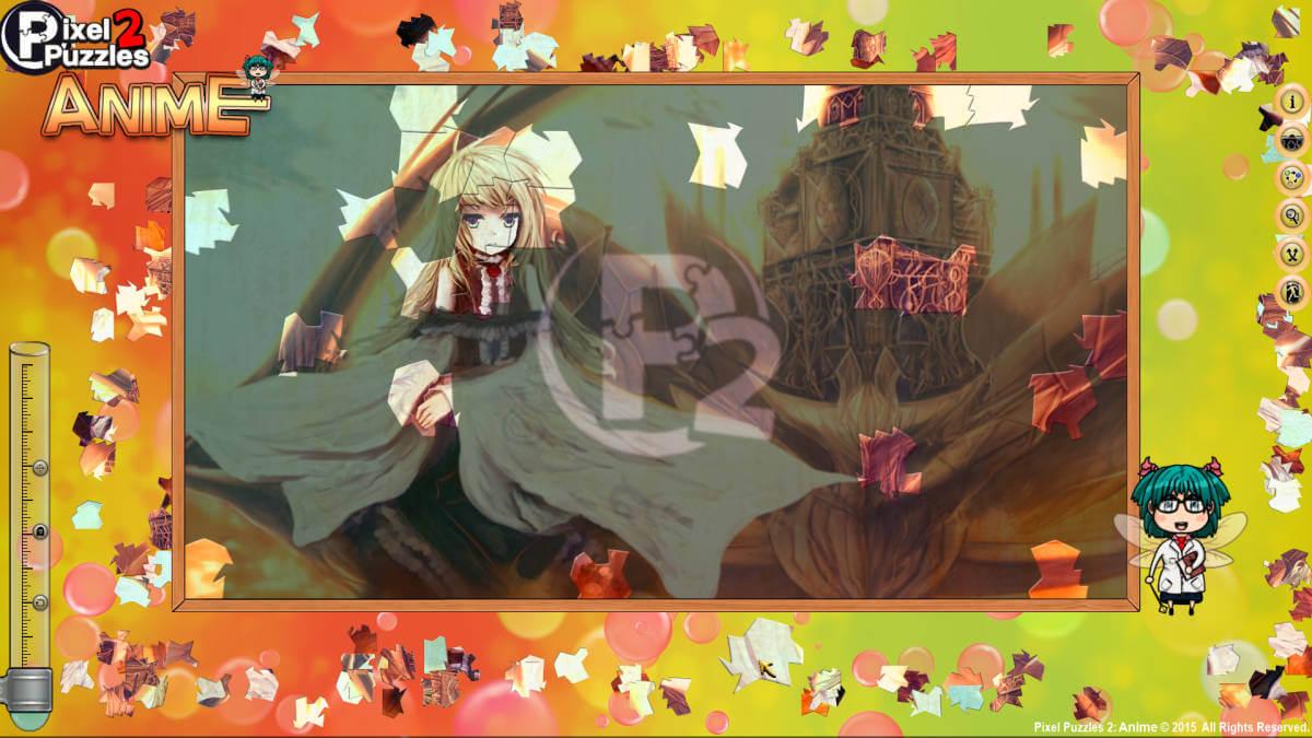Pixel Puzzles 2: Anime