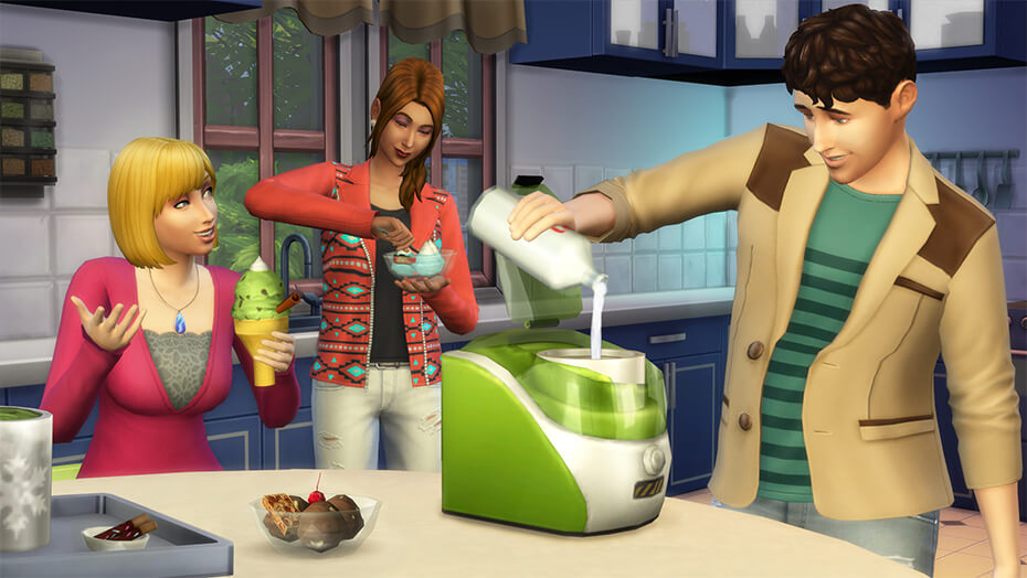 The Sims™ 4 Cool Kitchen Stuff Pack