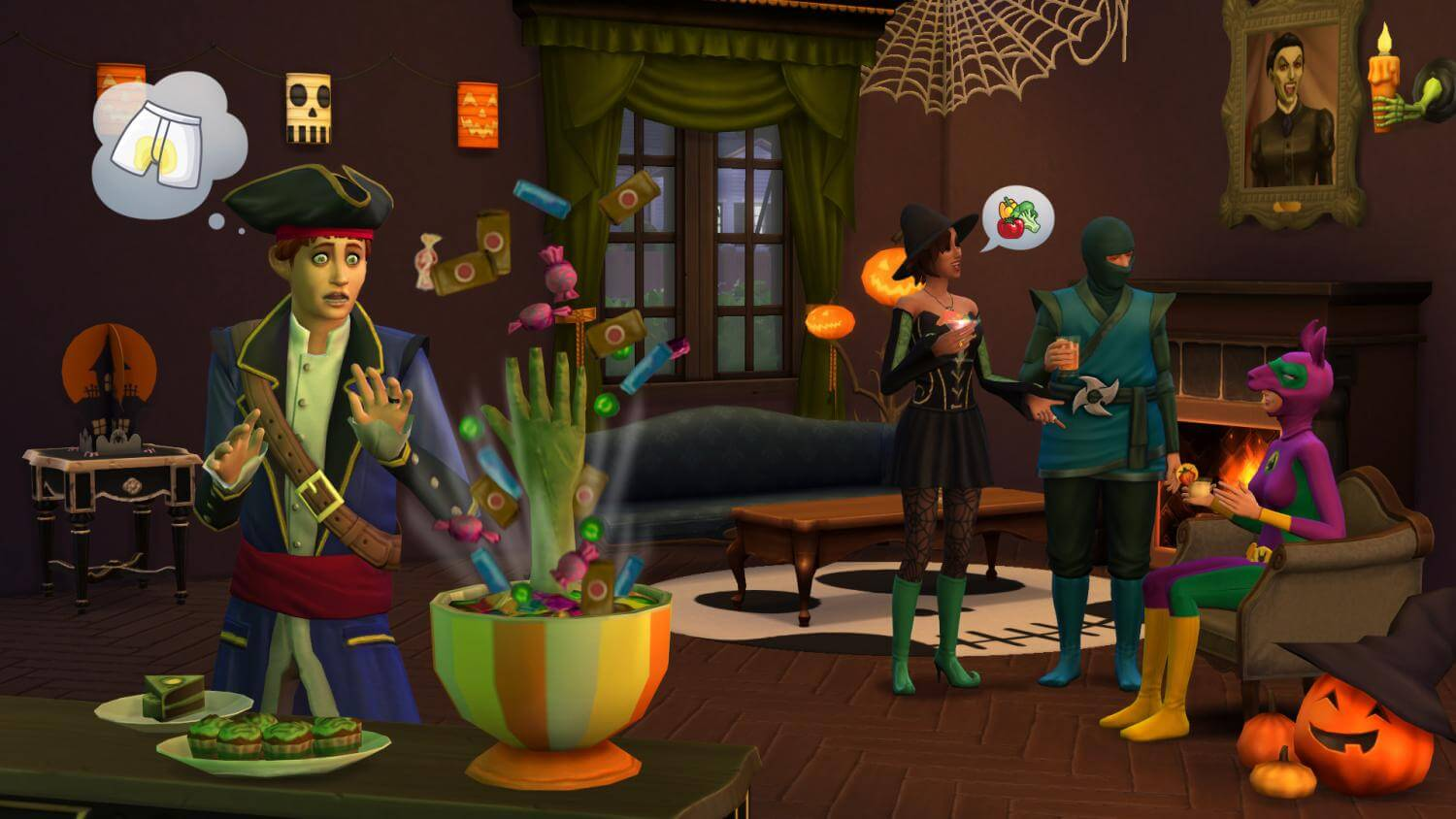 The Sims™ 4 Spooky Stuff Pack