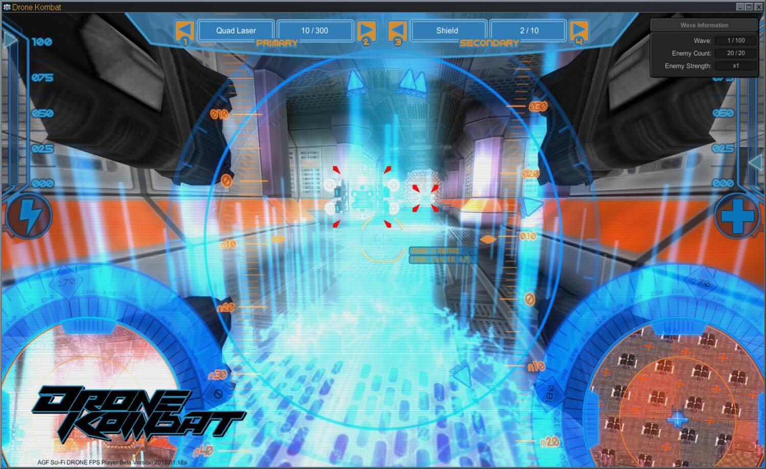 Axis Game Factory's AGFPRO - Drone Kombat FPS Multiplayer