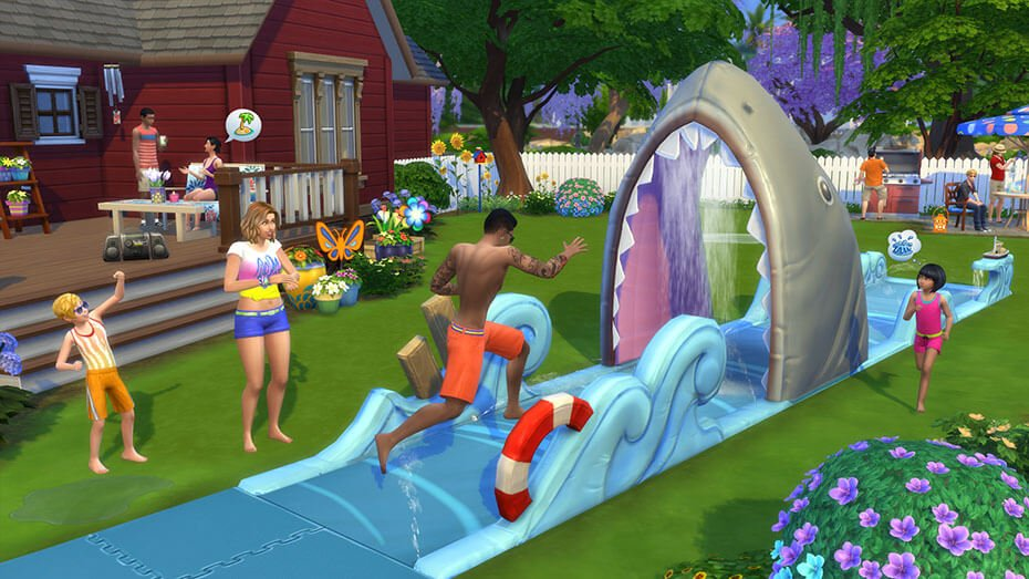 The Sims™ 4 Backyard Stuff