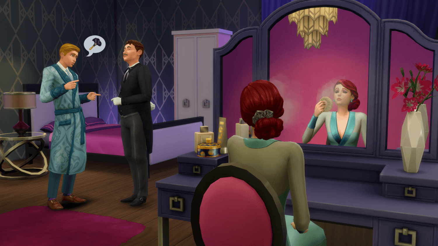 The Sims™ 4 Vintage Glamour Stuff