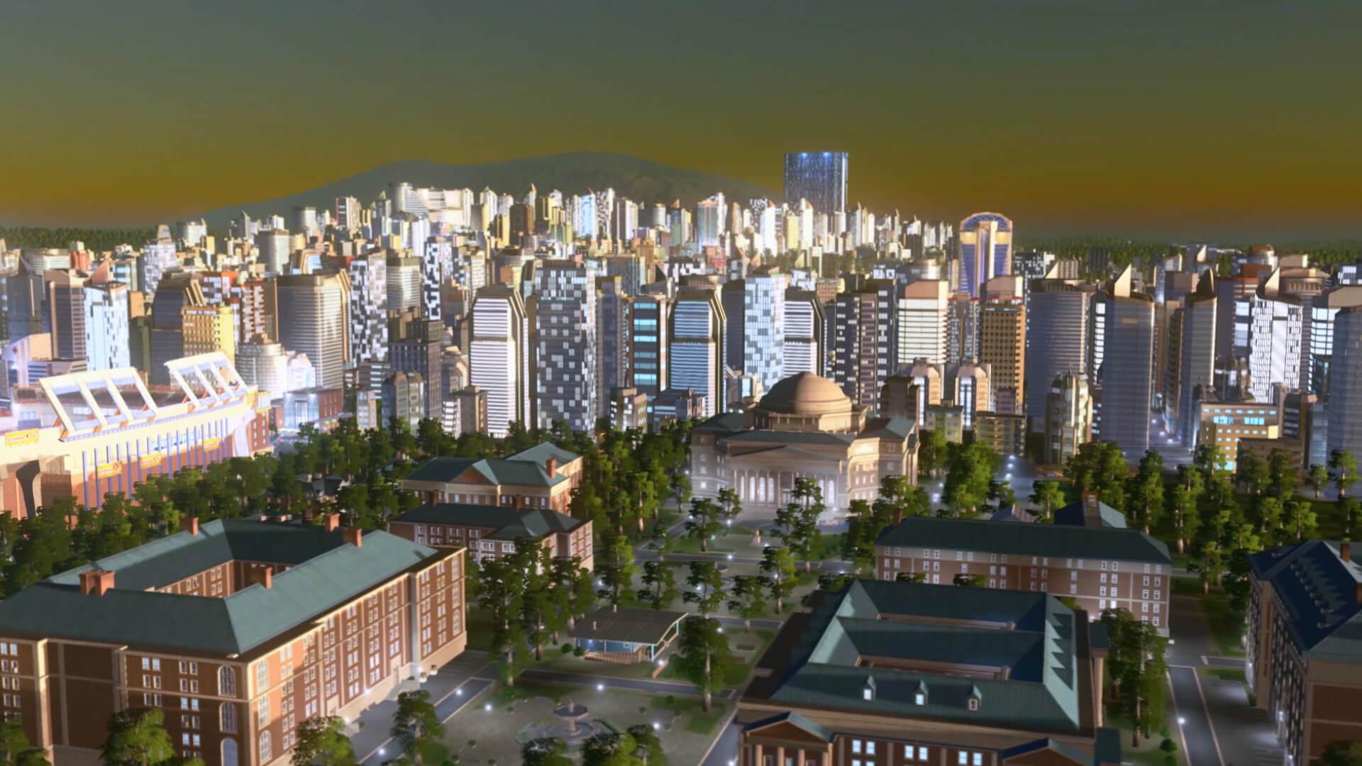 Cities: Skyline - Deep Focus Radio