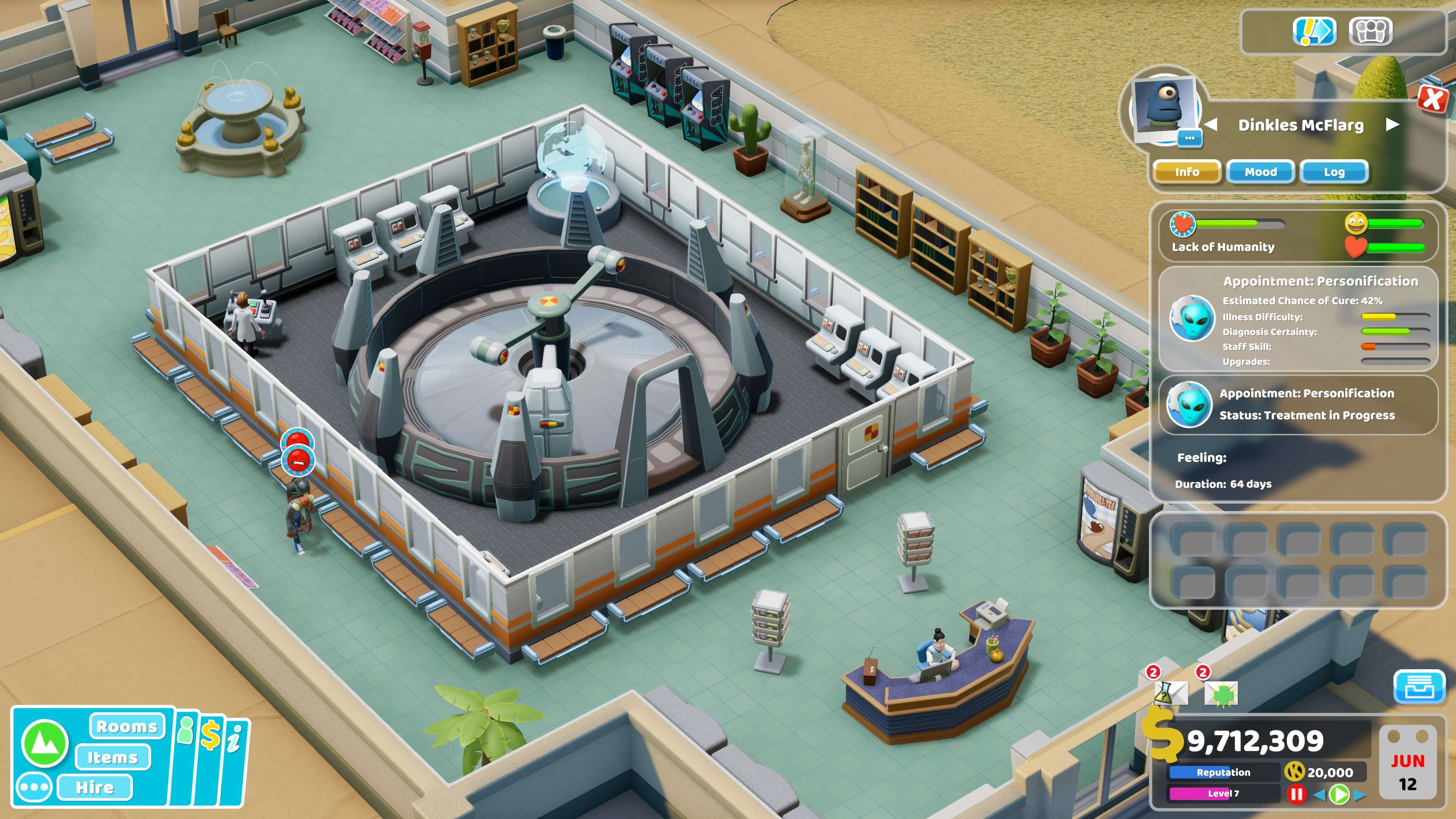 Two Point Hospital - Close Encounters