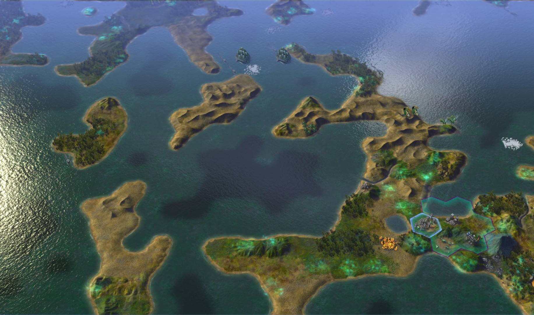 Sid Meier's Civilization : Beyond Earth - Exoplanets Map Pack (ROW)