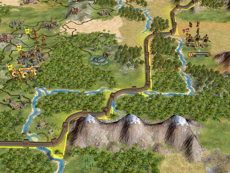 Sid Meier's Civilization IV : Warlords (ROW)