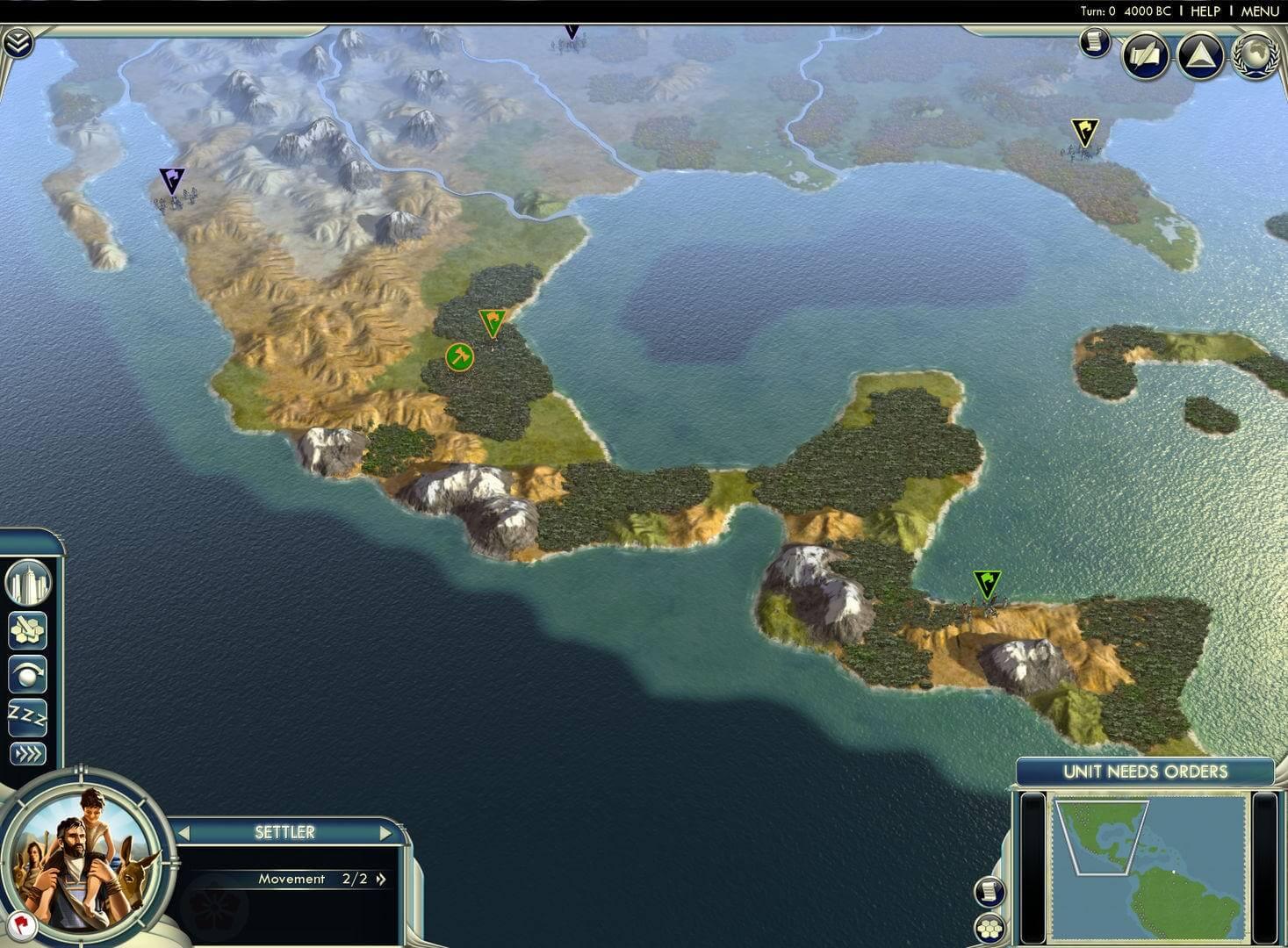 Sid Meier's Civilization V : Cradle of Civilization - Americas (WW)
