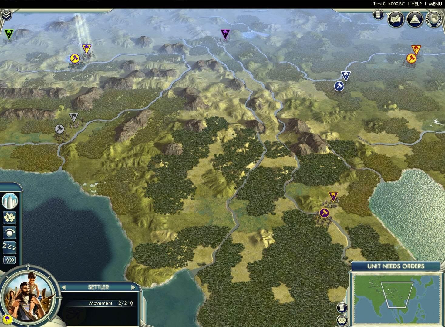 Sid Meier's Civilization V : Cradle of Civilization - Asia (WW)