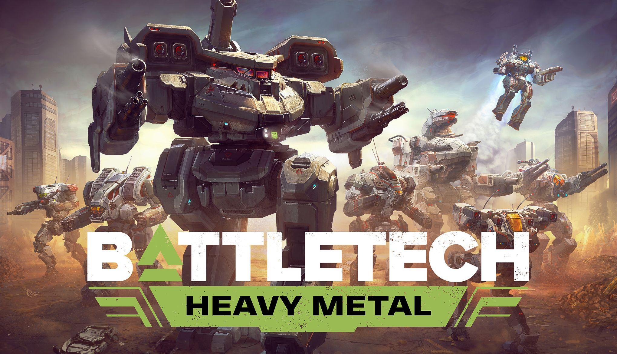 BATTLETECH - Heavy Metal | ROW (6d16f2d4-a66b-4476-bf08-22539dc0ae36)