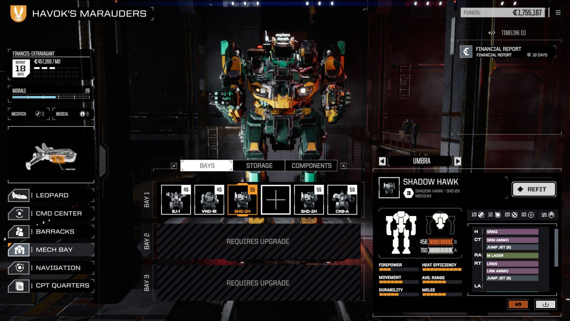 BATTLETECH - Shadow Hawk Pack | ROW (805d856b-9a12-4083-be9b-82f0184bb5d3)