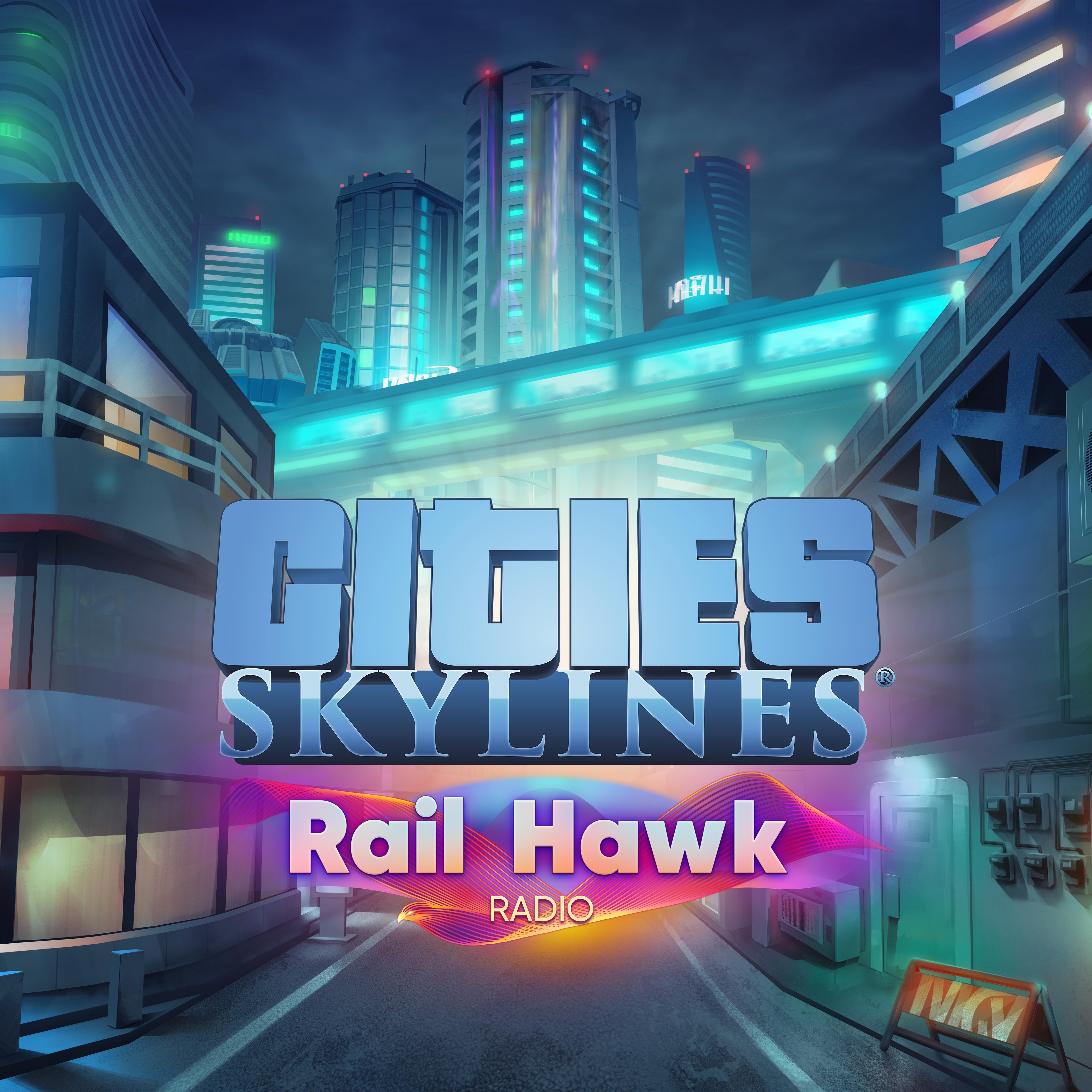 Cities: Skylines - Rail Hawk Radio   ROW (78352a2c-fb72-40ec-8685-0be19b5445a3)