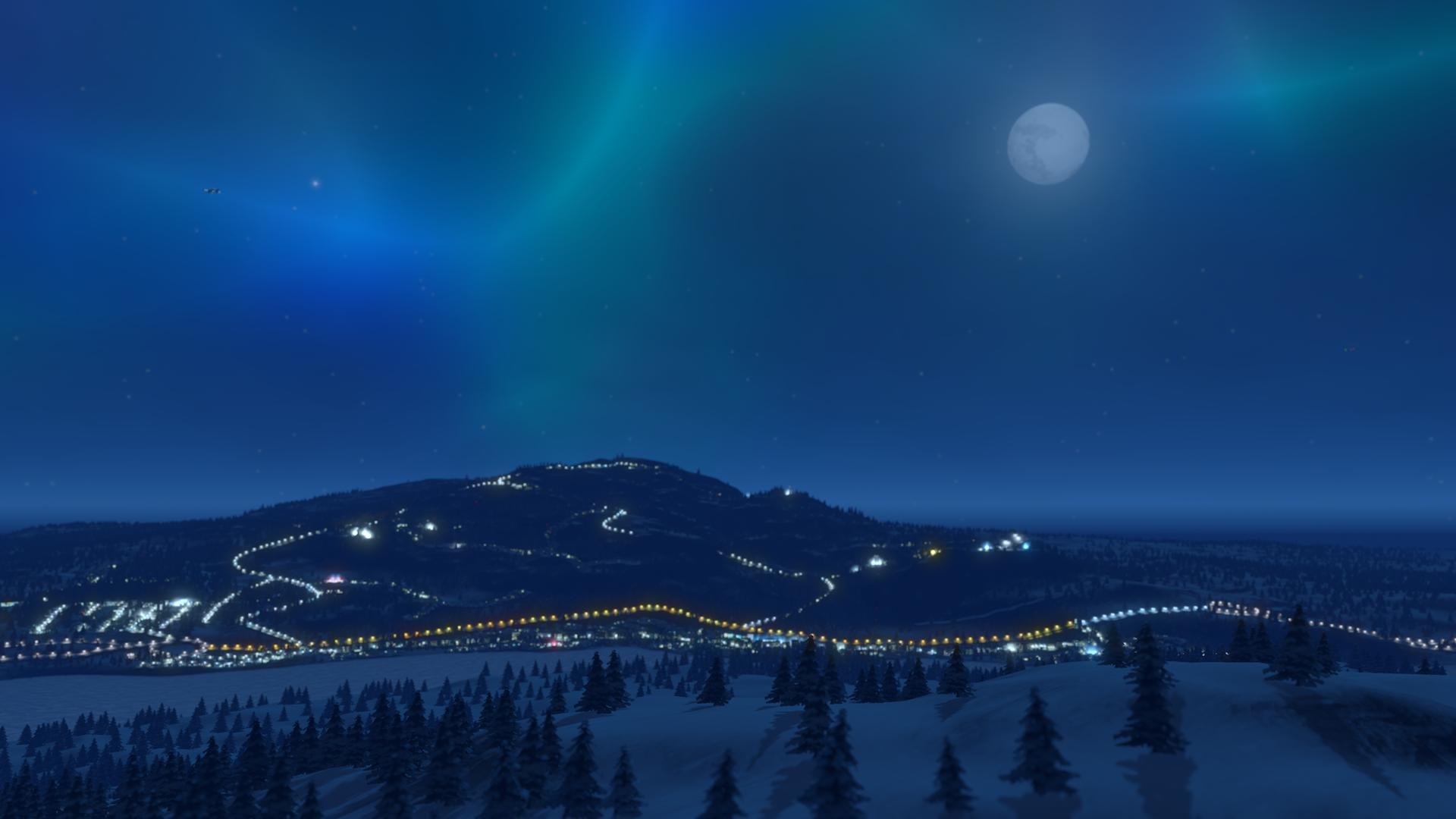 Cities: Skylines - Snowfall   ROW (9b405cb5-405d-42ad-ab8b-d21c097d43d6)