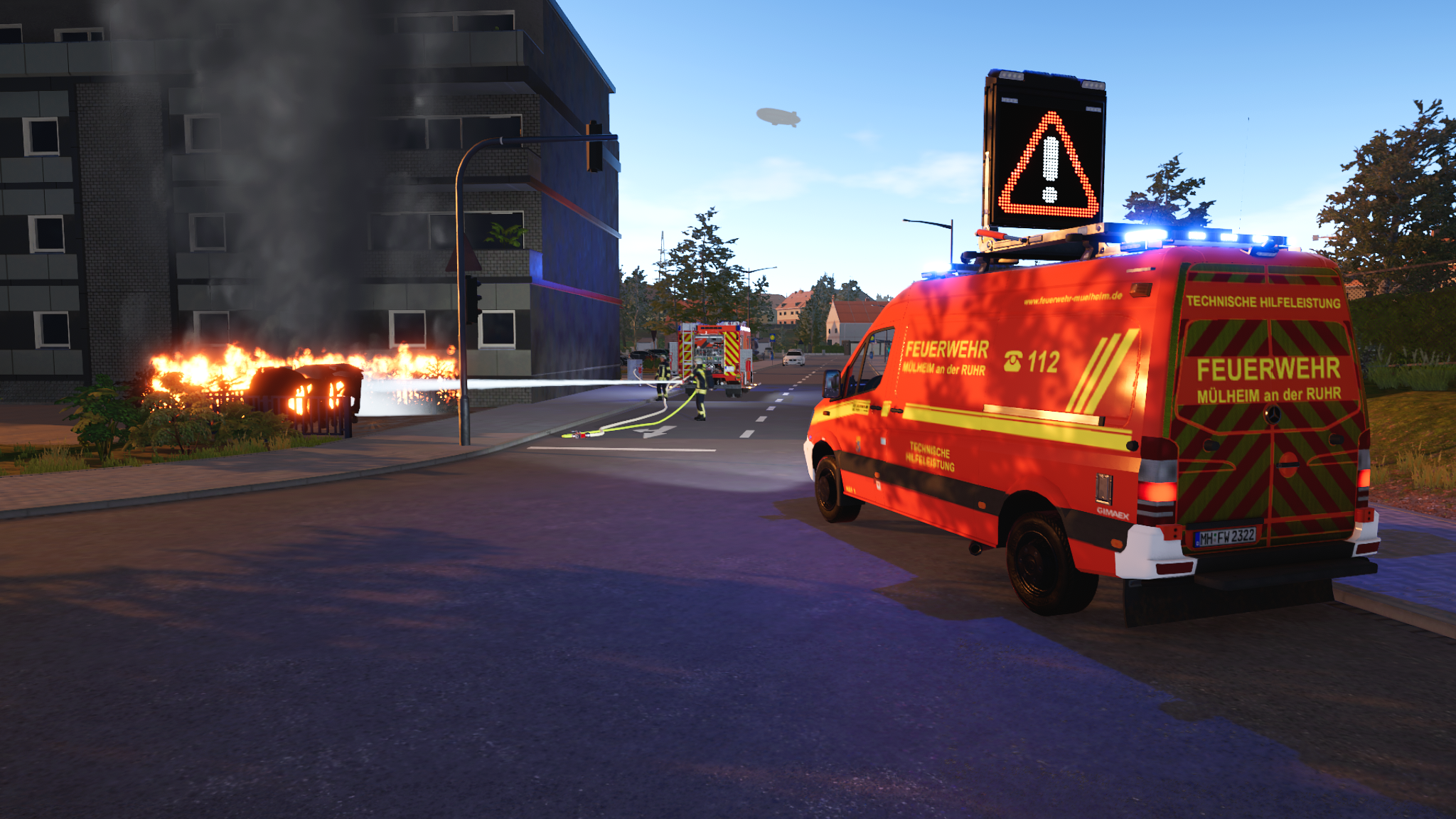 Emergency Call 112 – The Fire Fighting Simulation 2
