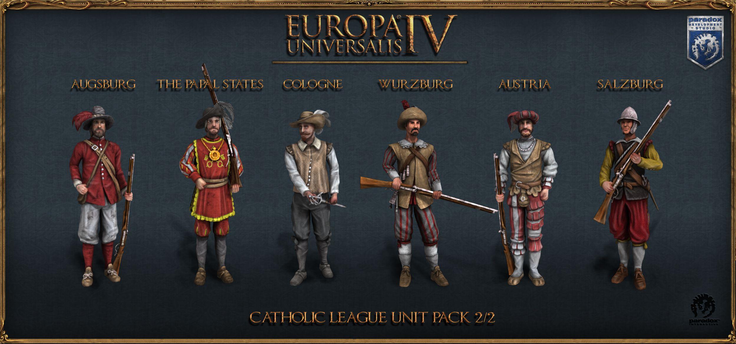 Europa Universalis IV: Catholic League Unit Pack | ROW (2e323077-b2cf-4fd3-a6a8-eaee0ed2574e)