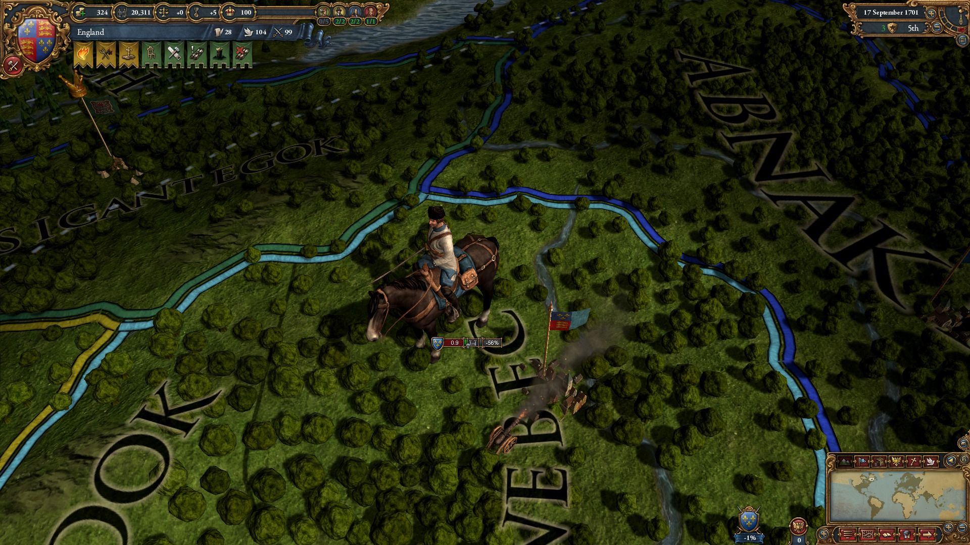 Europa Universalis IV: Colonial British and French Unit Pack