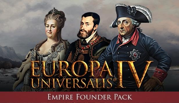 Europa Universalis IV: Empire Founder Pack (NEW) | ROW (486ec3d4-6d28-42d0-8ea7-3deac2b2556b)