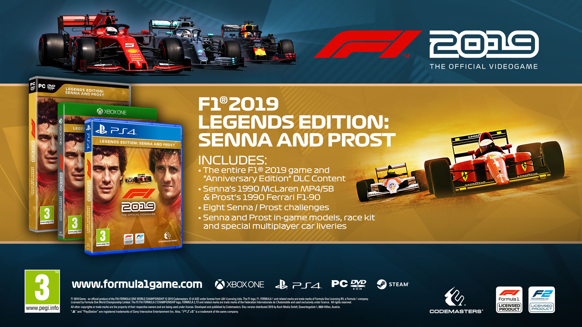 F1® 2019 Legends Edition | ROW (71690b30-5d03-49da-b534-305622bfd1a1)