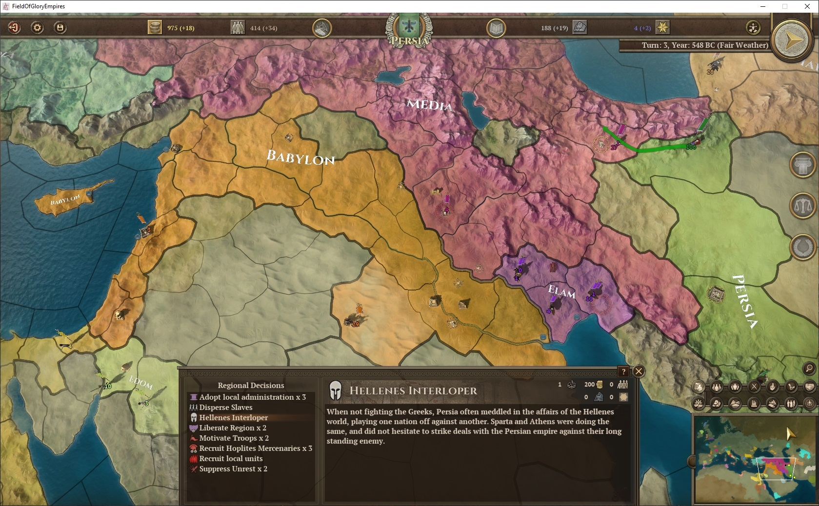 Field of Glory: Empires - Persia 550 - 330 BCE | ROW (fce8c172-4d14-46a6-8621-c2afe23d392a)