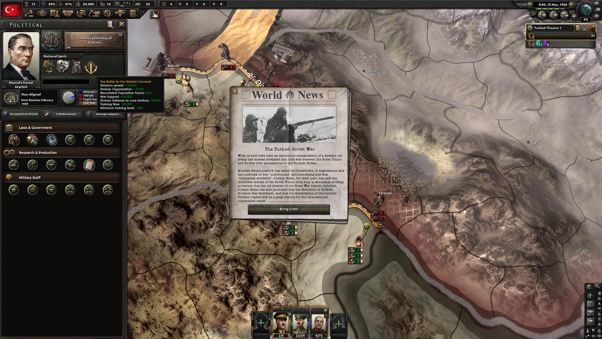 Hearts of Iron IV: Battle of the Bosporus