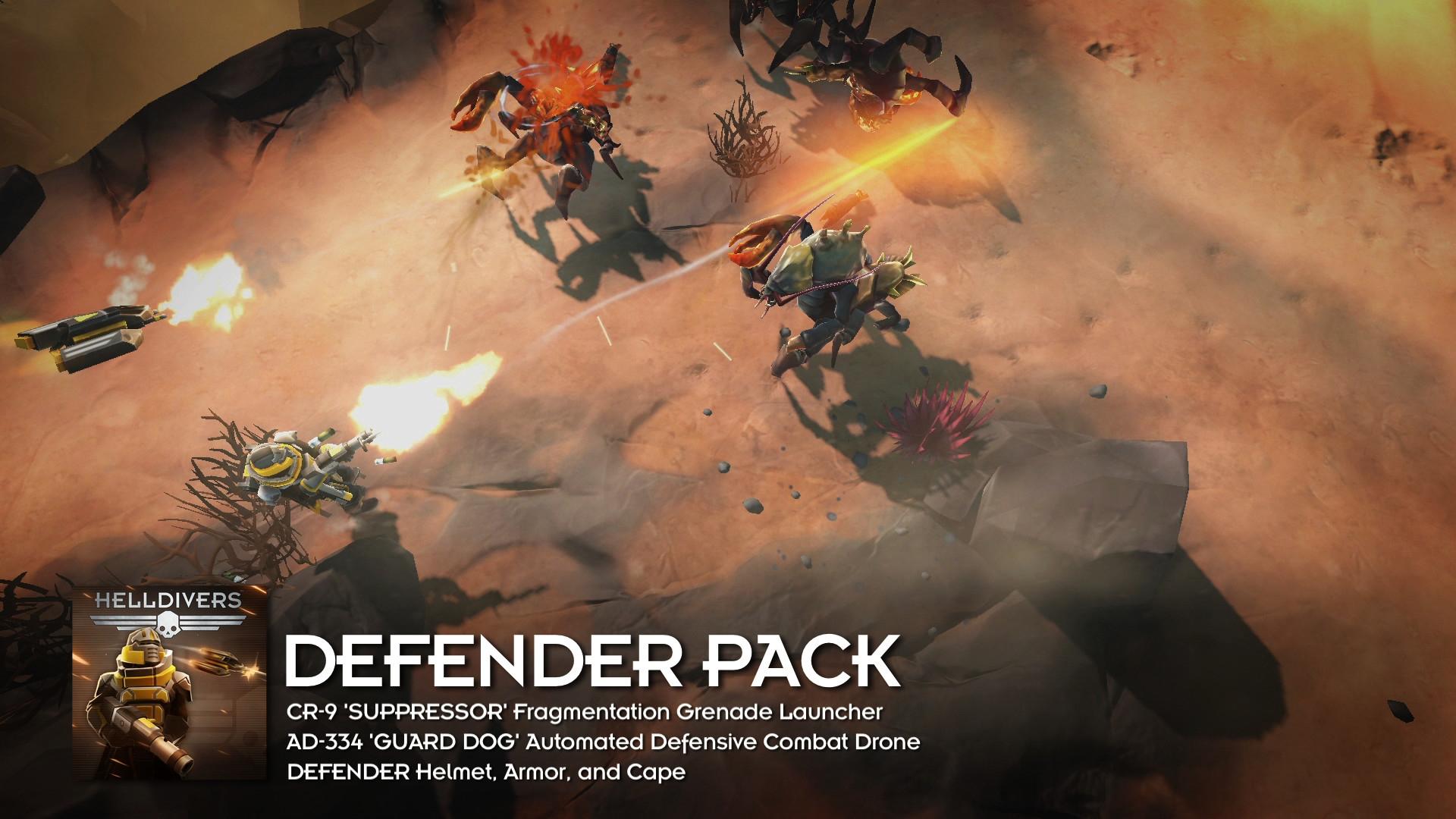 HELLDIVERS™ Defenders Pack | WW (0f7a629a-6818-41cf-84ec-63f9b3825068)