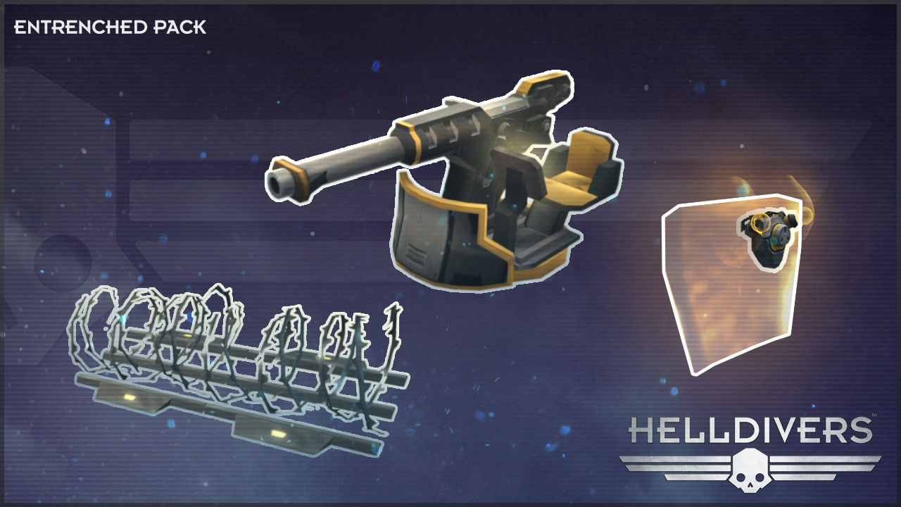 HELLDIVERS™ Entrenched Pack | WW (065023d6-31e0-469c-9c5c-bd7b8751ffce)