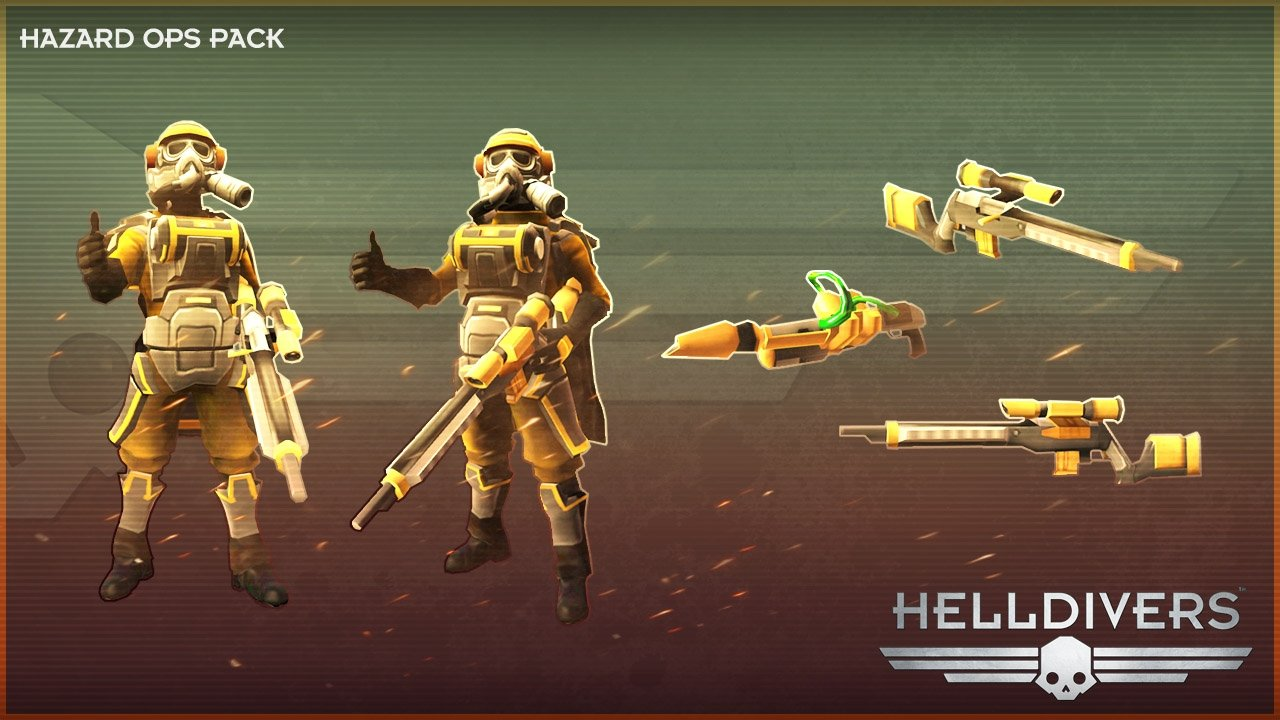HELLDIVERS™ Hazard Ops Pack | WW (d209473f-e72a-425a-ad21-169be700b2eb)