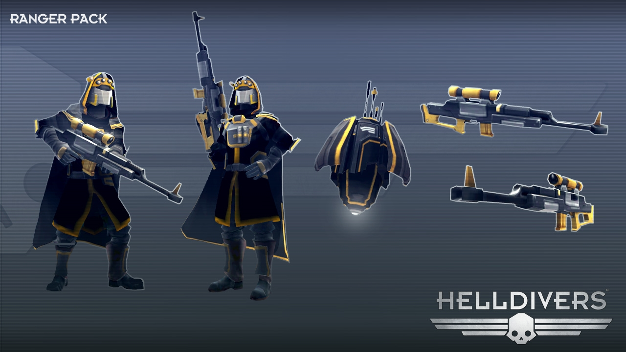 HELLDIVERS™ Ranger Pack | WW (f508c1f1-1be1-48dd-a1f6-631b9bb300ec)