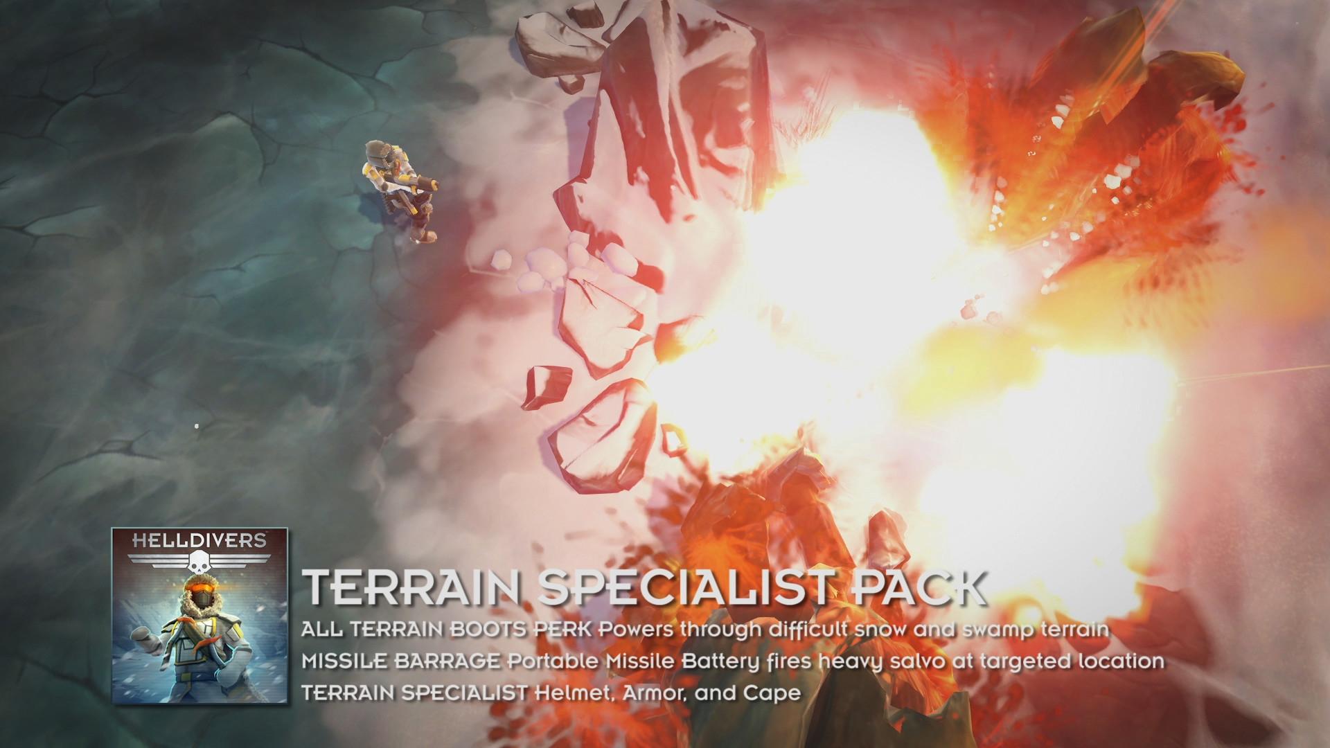 HELLDIVERS™ Terrain Specialist Pack   WW (6c02fa31-a31a-4a72-9794-056beb0eeb5c)