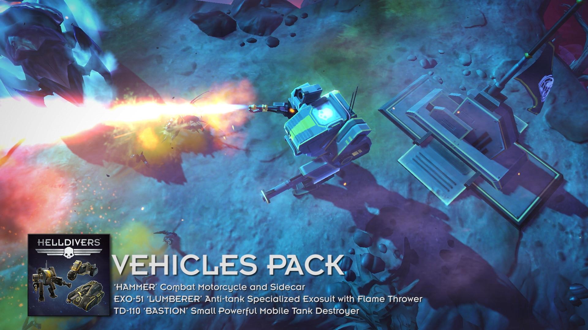 HELLDIVERS™ Vehicles Pack | WW (8e819e95-6612-4c88-ab63-7d128001cee6)