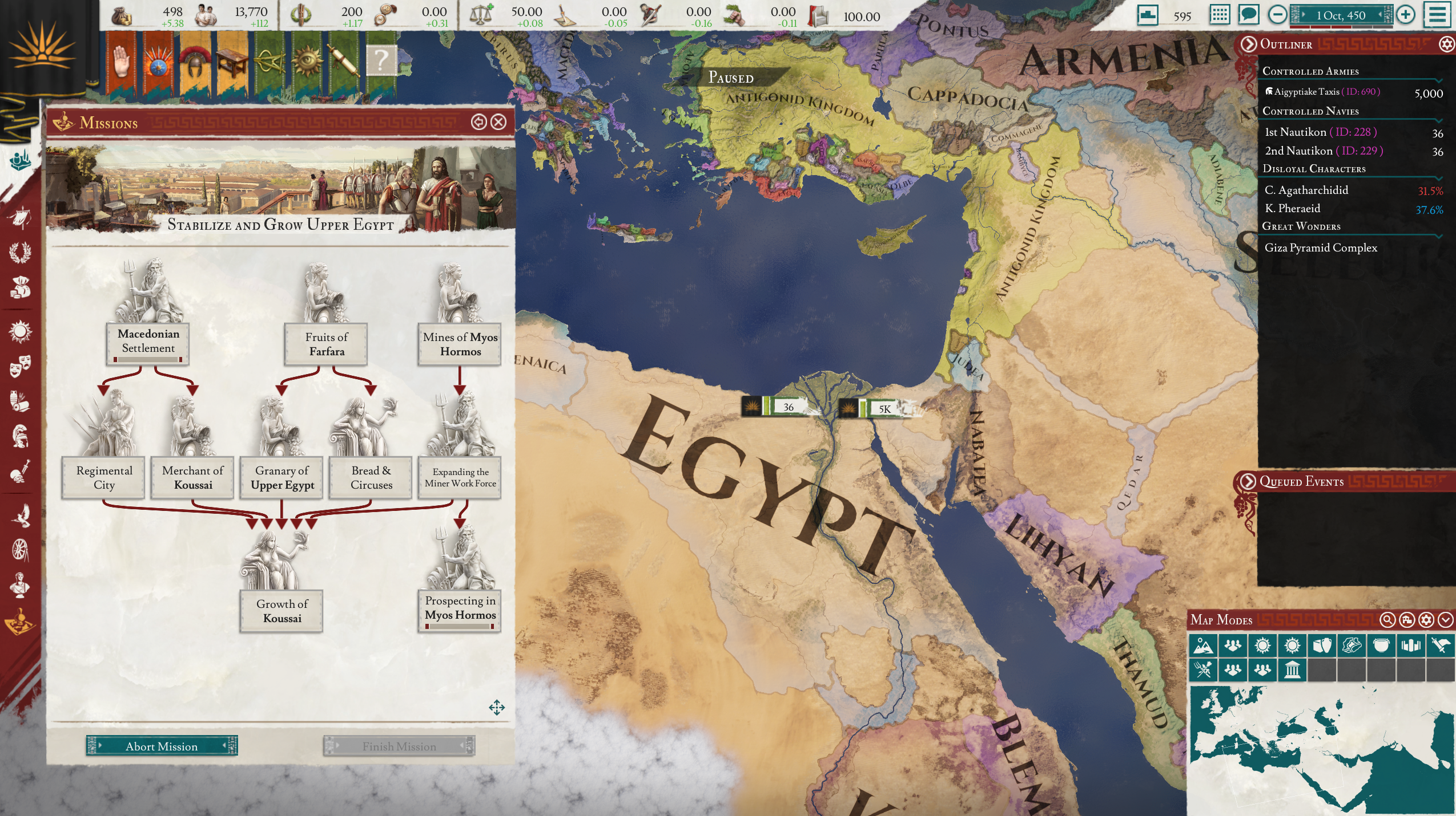 Imperator: Rome Heirs of Alexander Content Pack