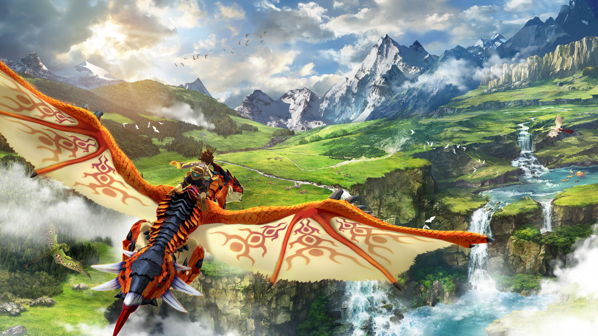 Monster Hunter Stories 2: Wings of Ruin Deluxe Edition (Launch)
