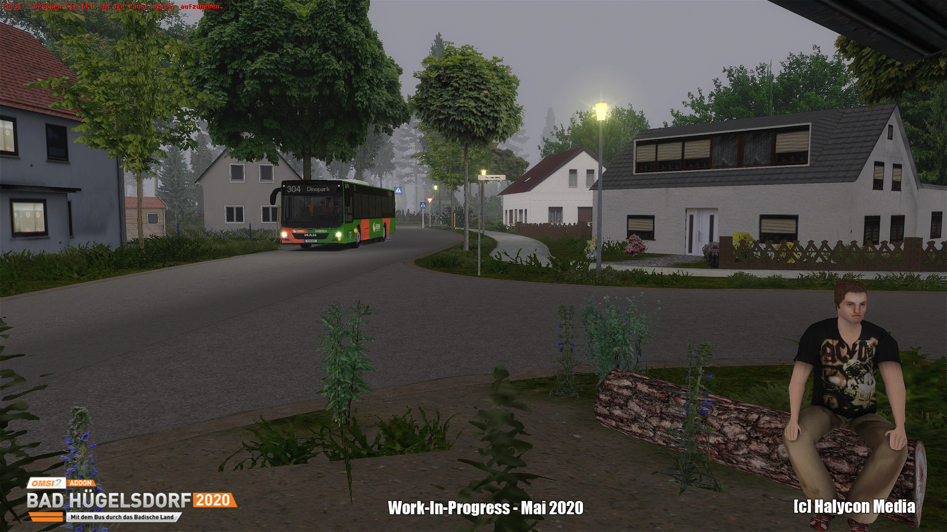 OMSI 2 Add-on Bad Hügelsdorf 2020 - Pre Order - Steam