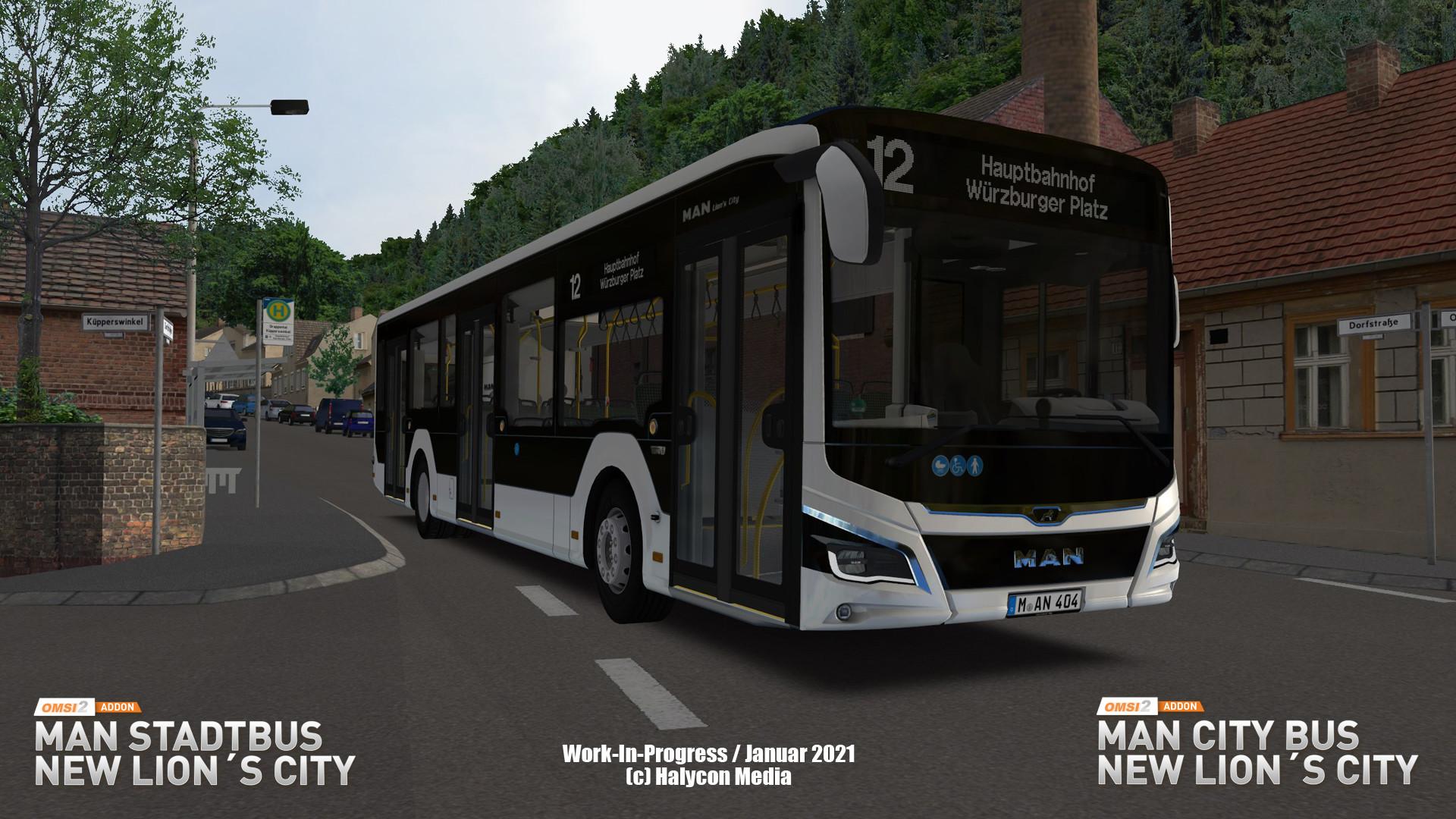 OMSI 2 Add-on MAN Stadtbus New Lion's City