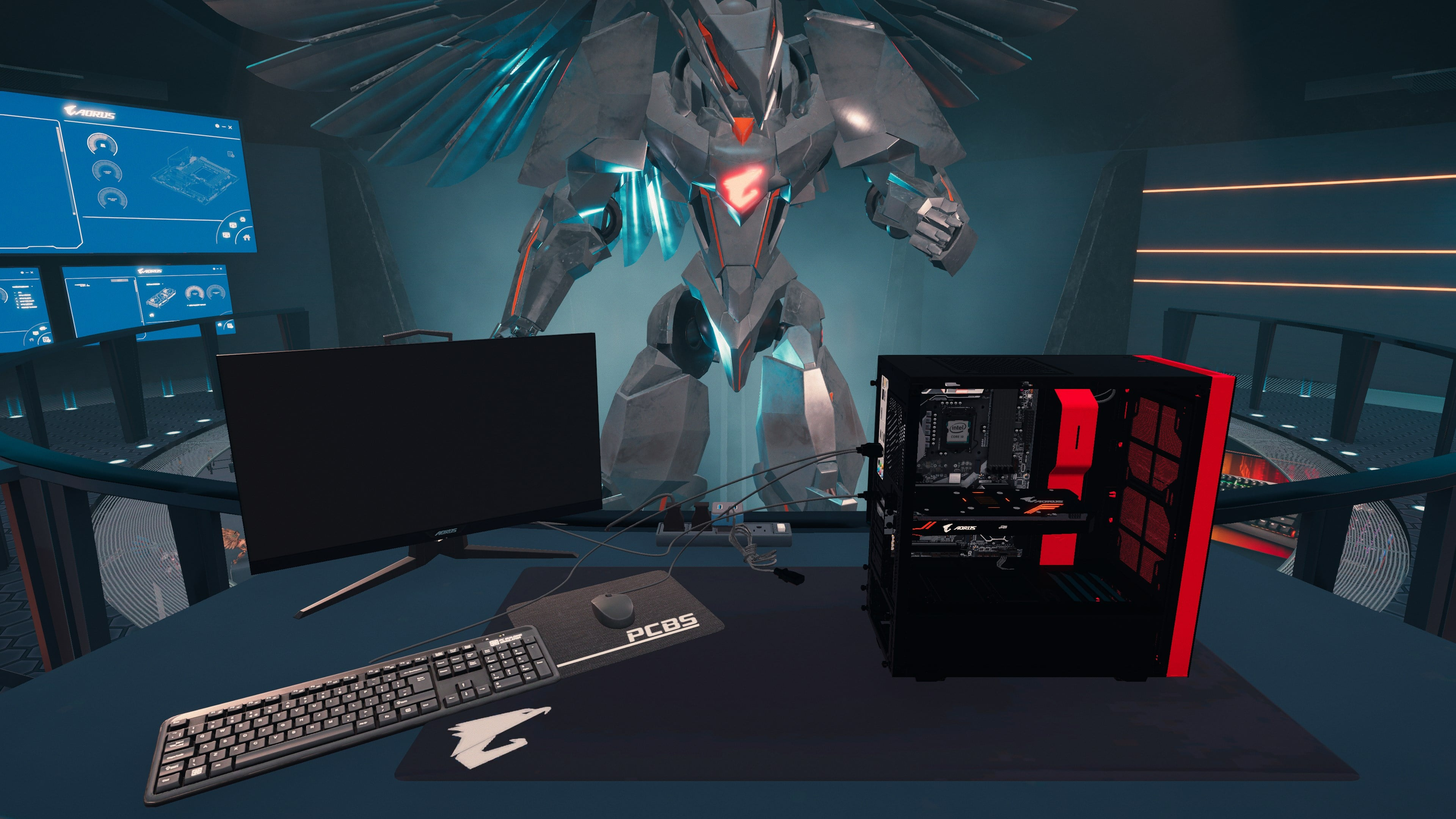 PC Building Simulator - AORUS Workshop | WW (d7984986-95dc-4d51-b506-74c11772e194)