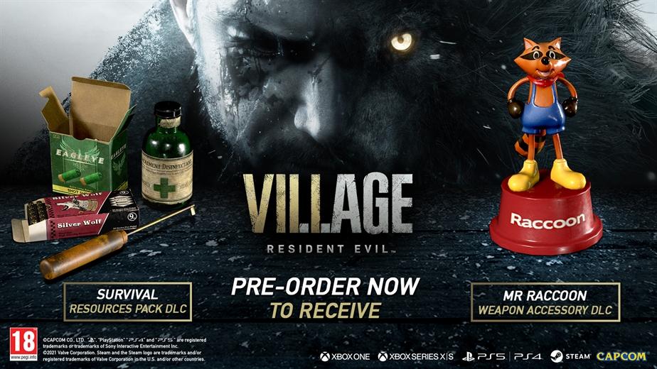 Resident Evil Village Deluxe Edition -  Pre-order