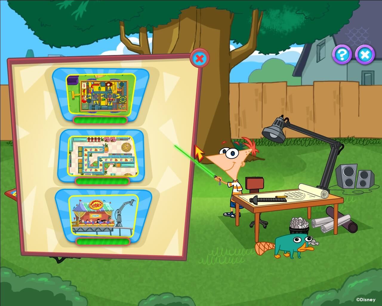 Disney Phineas & Ferb : New Inventions