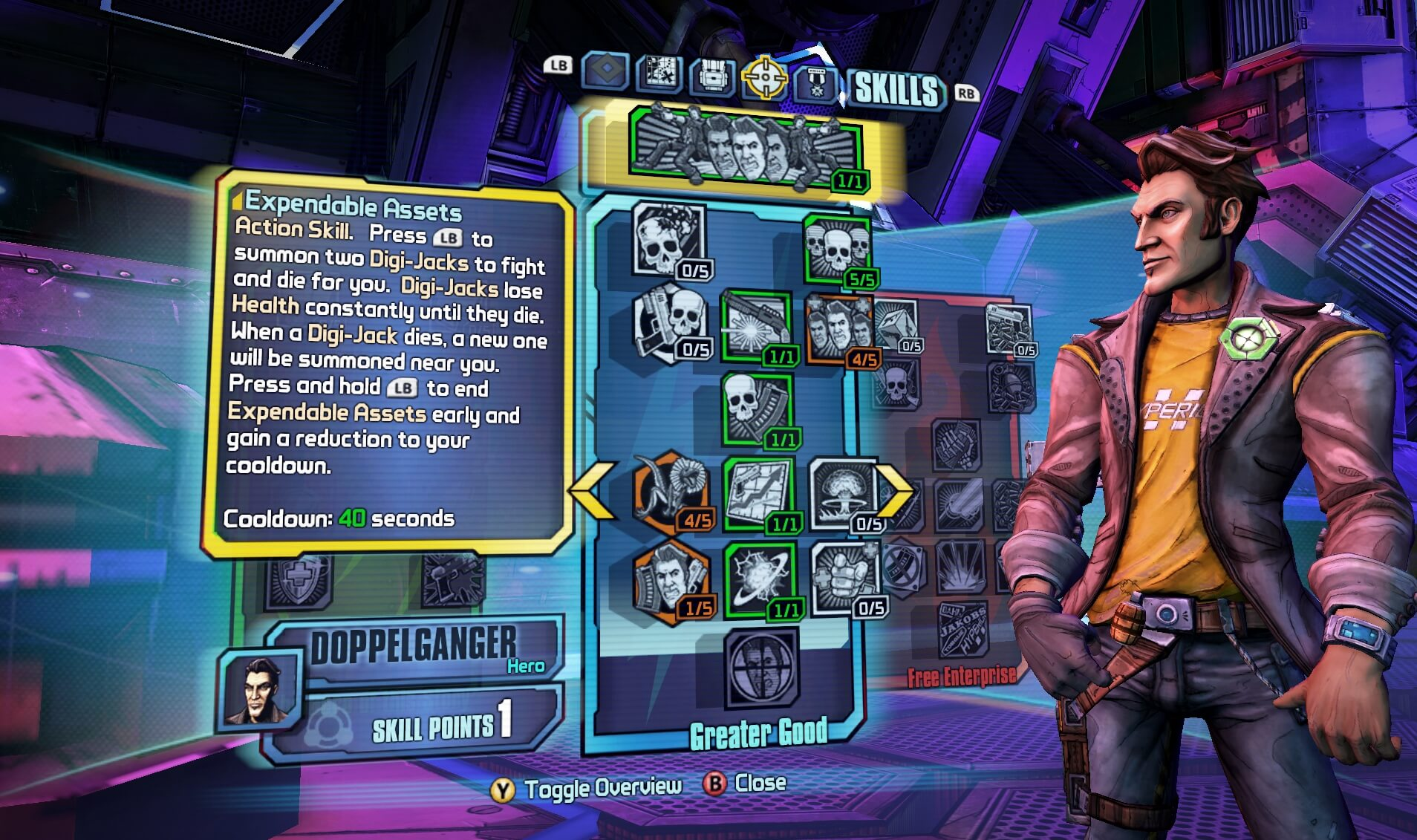 Borderlands : The Pre-Sequel - Claptastic Voyage and Ultimate Vault Hunter Upgrade Pack 2 (ROW)