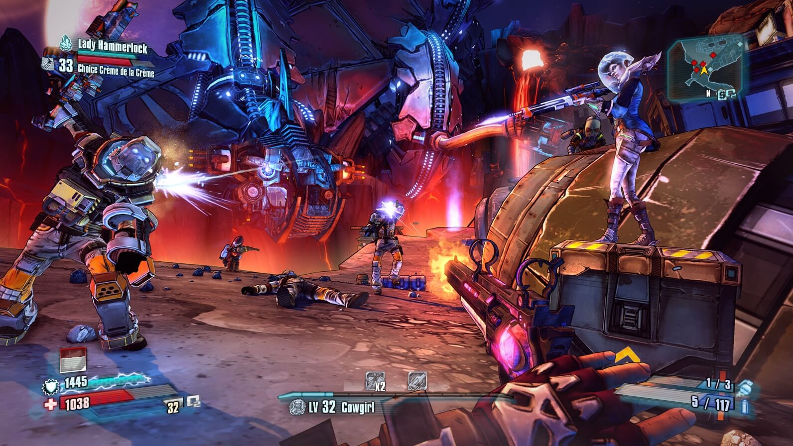 Borderlands: The Pre-Sequel - Lady Hammerlock pack (ROW)