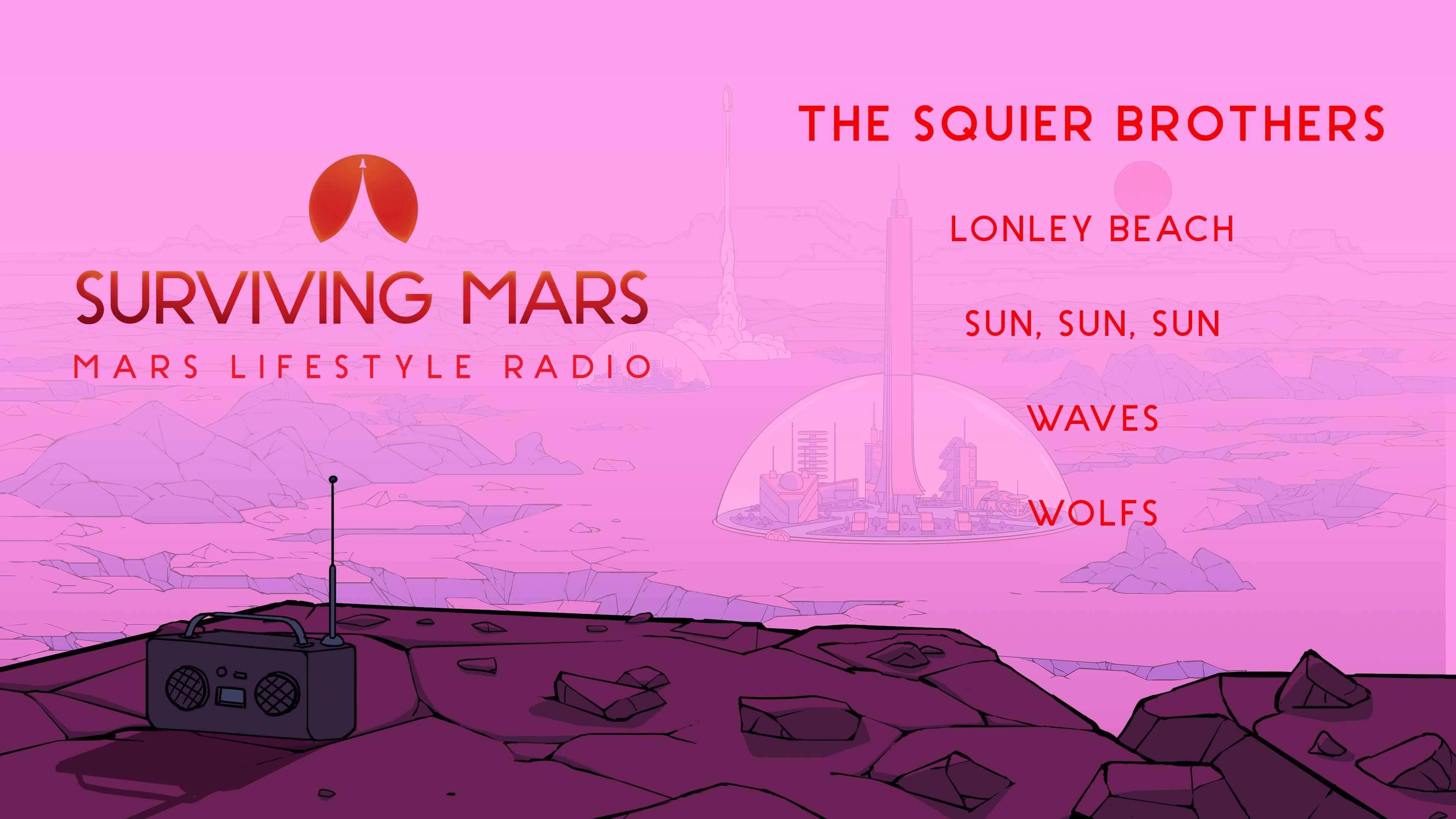 Surviving Mars - Mars Lifestyle Radio