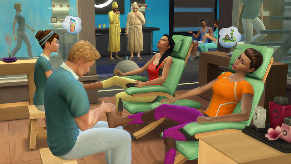 The Sims™ 4 Spa Day Game Pack