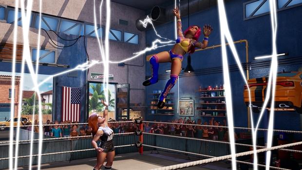 WWE 2K Battlegrounds - Launch