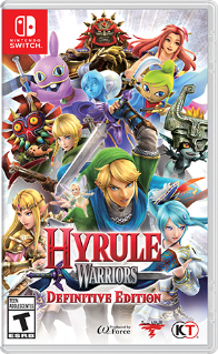 Hyrule Warriors Definitive Edition. ürün görseli