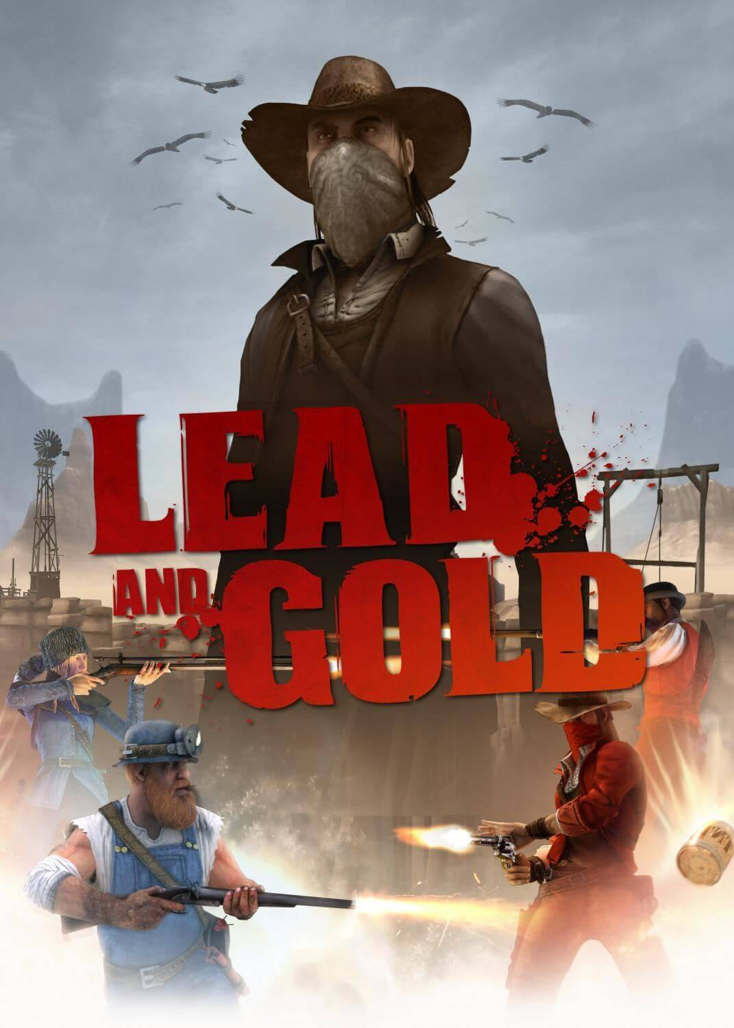 Lead and Gold: Gangs of the Wild West - Four Pack