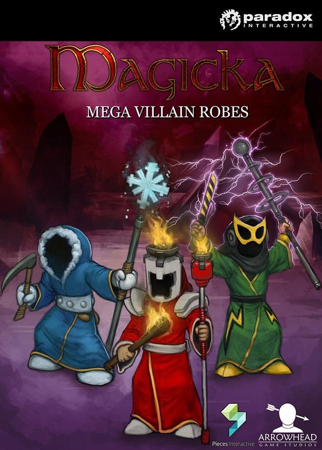 Magicka DLC: Mega Villain Robes