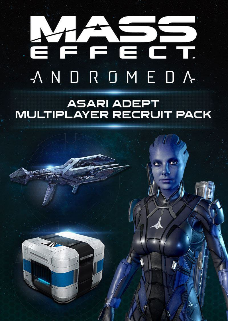 Mass Effect™: Andromeda Asari Adept Multiplayer Recruit Pack