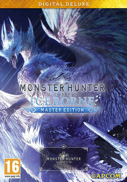 Monster Hunter World: Iceborne Master Edition Deluxe